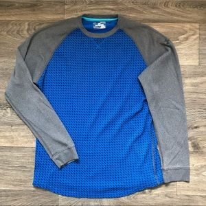 Under Armour Men's UA Thermal Waffle Crew Shirt Size M